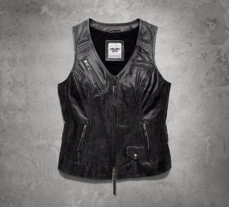 Damen, Lederweste, Dust Rider – Bike – #bike #Women #Dust #Leather Vest #Rider …   – Schönes Motorrad