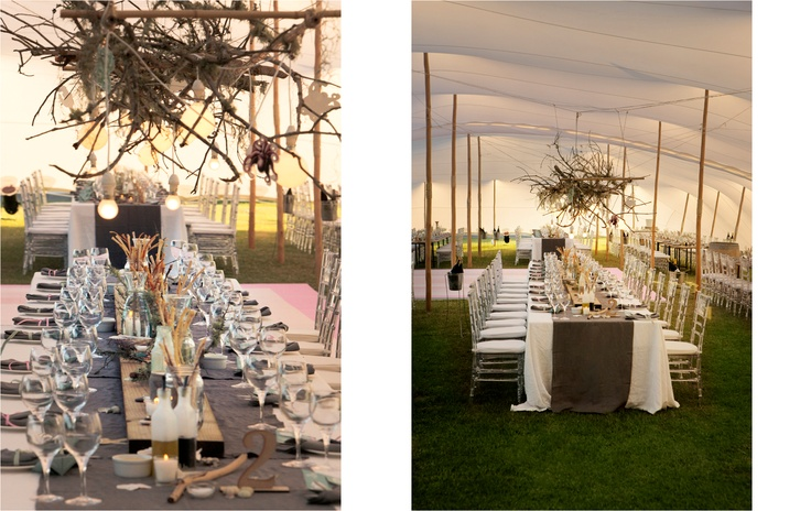Tablescape - Rustic Beach Theme  Styling & Event Planner www.eventsandtent.co.za Photographer www.joannedunn.it