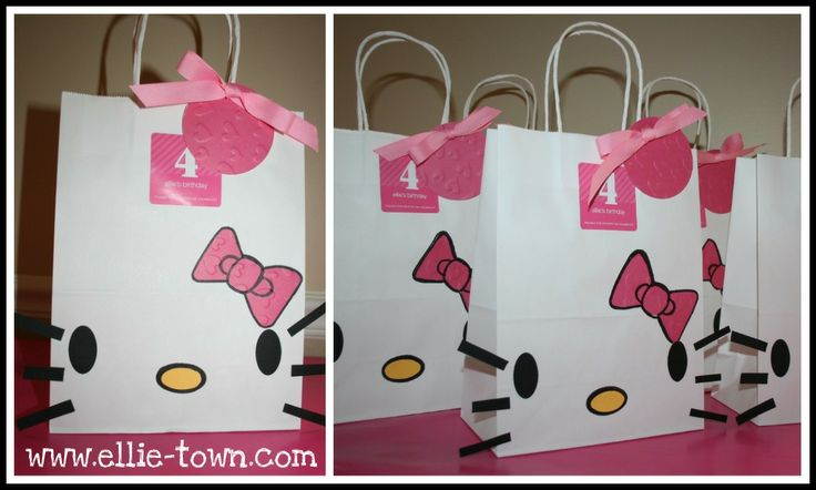 Gift BagsGift Bags, Treats Bags, Goodies Bags, Parties Plans, Parties Favors, Favors Bags, Parties Ideas, Parties Bags, Hello Kitty Parties