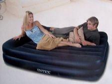 Luftbett-Double mit Pumpe Luftmatratze 203x152x47 Intex Gästebett