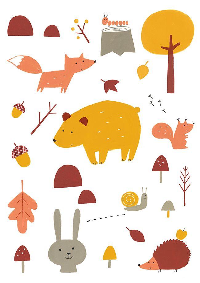 autumn illustrations - Поиск в Google