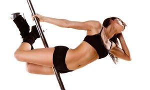 Groupon - 1 Intro to Pole or 3 Pole or Chair Dancing Classes at Pole Position Dance And Fitness (Up to 53% Off)    in White Plains. Groupon deal price: $15