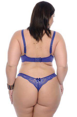 936f77e6dac3 Conjunto Lingerie Plus Size Genoa Lingerie Plus Size, Genoa, Thong Bikini,  Lace Detail