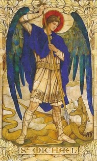 Painting of St Michael the Archangel