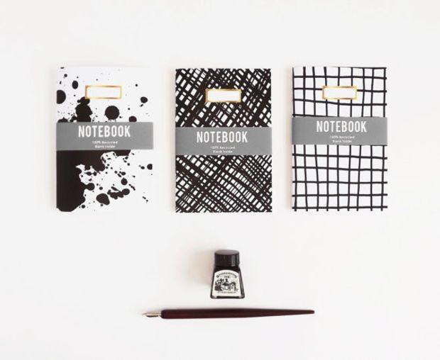 Ink'd Notebook x 3