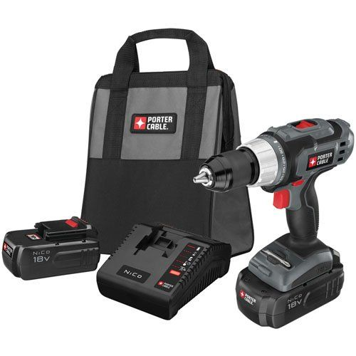 Special Offers - PORTER-CABLE PC180DK-2 18-Volt NiCd Drill/Driver Kit - In stock & Free Shipping. You can save more money! Check It (April 07 2016 at 01:35PM) >> http://hammerdrillusa.net/porter-cable-pc180dk-2-18-volt-nicd-drilldriver-kit/