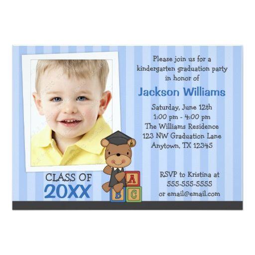 130 best kindergarten graduation invitations images – Zazzle Graduation Invitations