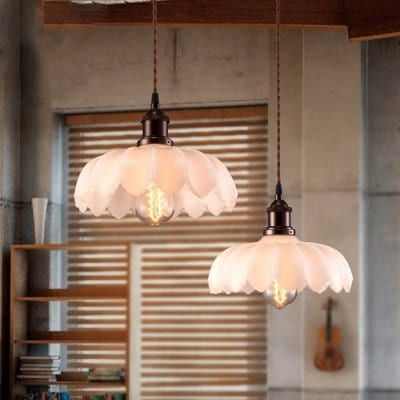 Just US$66.75 + , buy LANSHI  Vintage Pendant Lights Glass  Suspension Luminaire Lighting Fixture online shopping at GearBest.com.