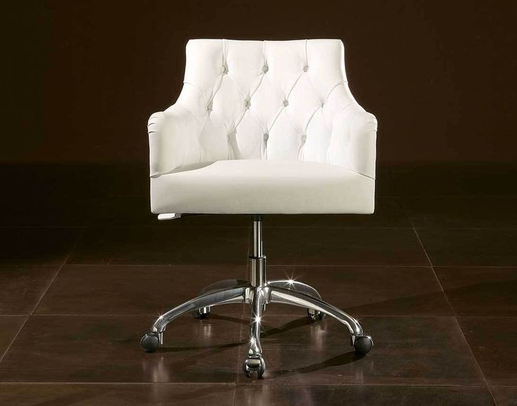 Image result for swivel luxury white leather office chair