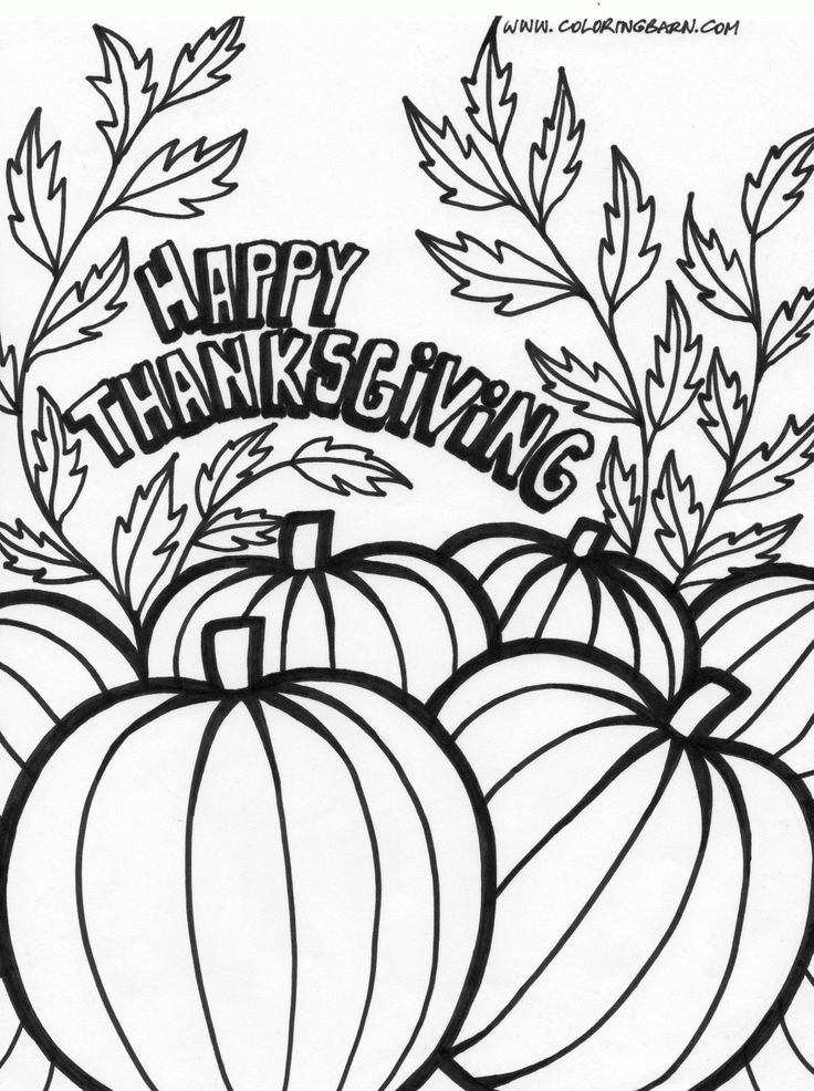 thanksgiving pumpkin coloring page continue reading
