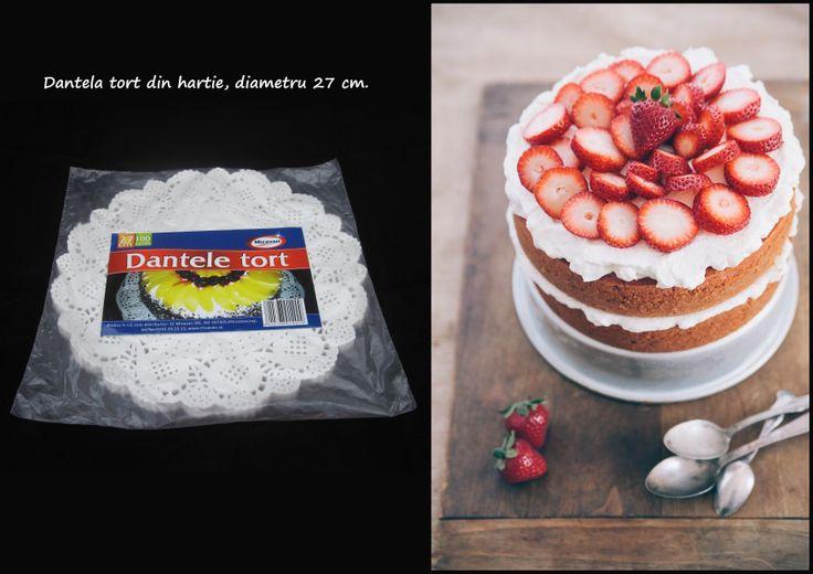 Dantela tort din hartie, diametru de 27 cm: http://www.produse-horeca.ro/industria-alimentara/panificatie/dantela-tort-27cm-100buc #misavan