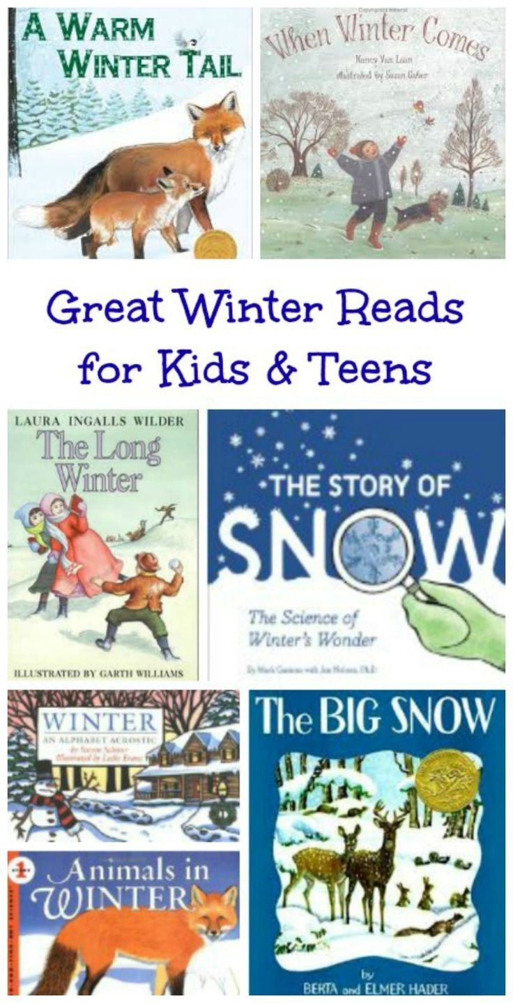 Awesome picture books and chapter books for preschool, elementary and middle school!  #winter #childrensbooks #readaloud