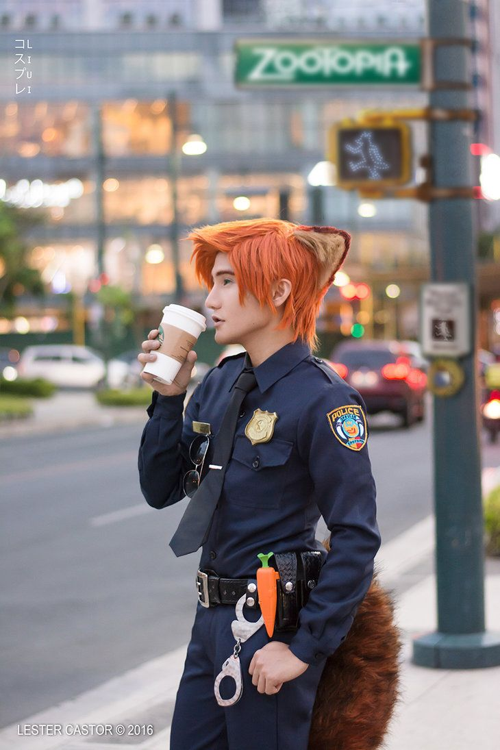 Officer Nick Wilde Coslay - ZOOTOPIA by liui-aquino on DeviantArt
