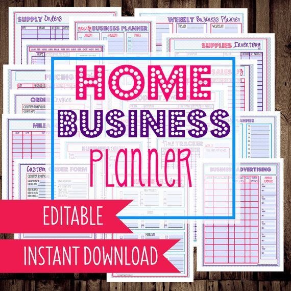 269 best organizing printables images on pinterest free for Home craft business ideas