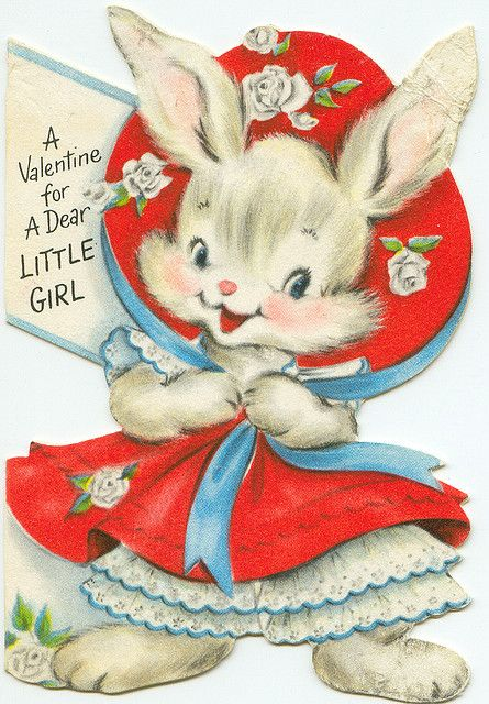 A Valentine For A Dear Little Girl...