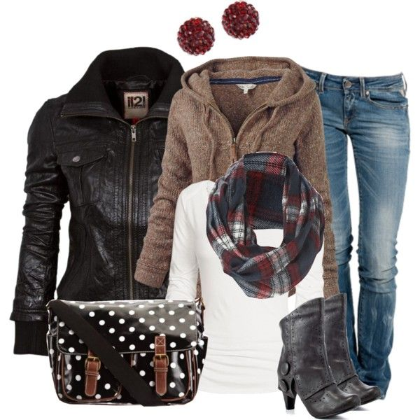 Winter OutfitDaily Outfit, Casual Outfit, Outfit Ideas, Style, Fashionista Trends, Fall Winte, Winter Outfit, Leather Jackets, Winter Fashion