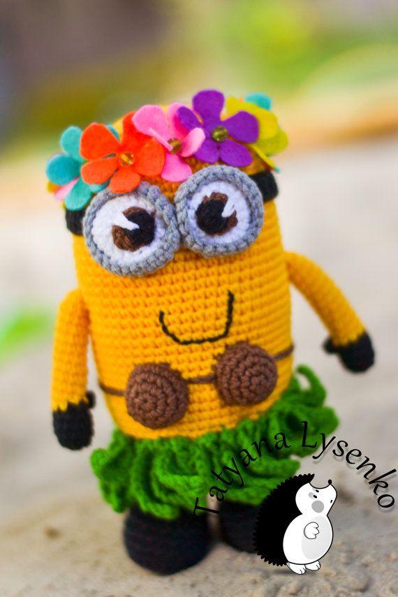 Миньоны - самые веселые и любимые персонажи наших деток , да и не только деток , но и взрослых тоже!    Для изготовления игрушки можно использовать