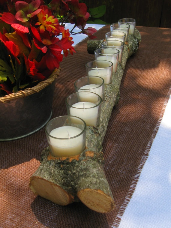 2ft Table Branch Candle Centerpiece Wedding Ideas Pinterest Centerpieces And