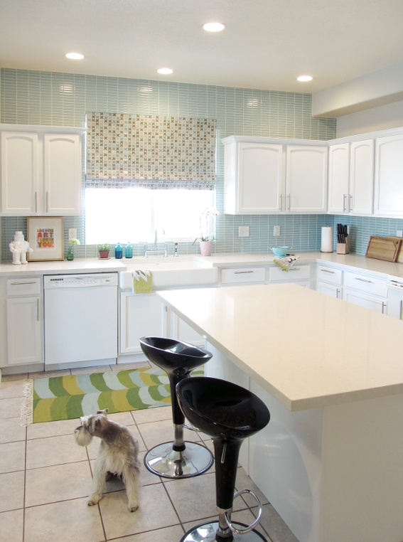 17 best images about customer makeovers the shade store on pinterest heart flats and accent - Kitchen wow mini makeovers ...