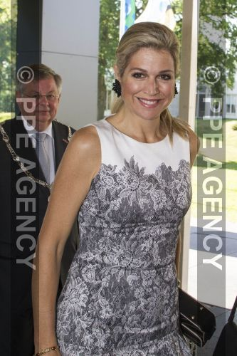 Queen Maxima attended the opening of an annual conference on education in Arnhem.