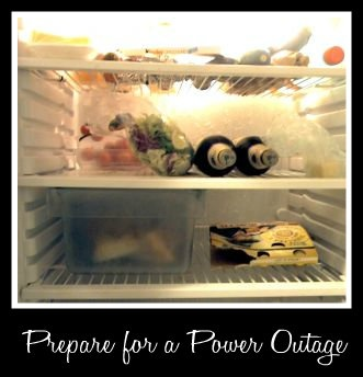 Prepare Your Kitchen for a Power Outage. Several things you should do now to be ready just in case.