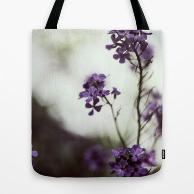 Only whispers can tell Tote Bag by Sarah Zanon - $22.00