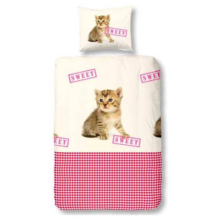 Kids-Style Dekbedovertrek 3120 sweet Cat