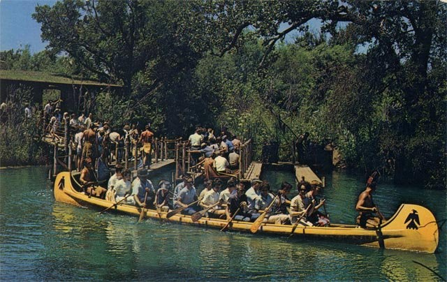 Six Flags - Indian Canoe ride