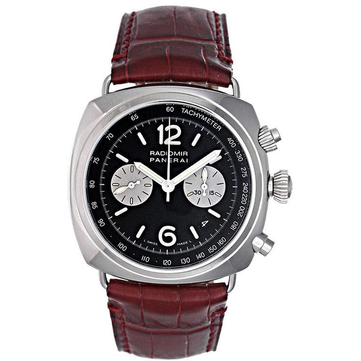 DeMesy Rare Ltd. Edition Panerai Radiomir Chronograph Watch PAM 163 F $15900