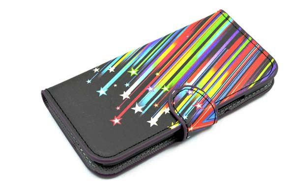 Meteor Card Wallet Flip Folding Hard Phone Cover Case For HTC M8 MINI