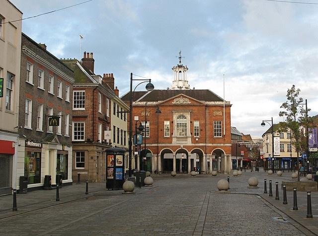 High Wycombe High Street by Thorskegga, via Flickr
