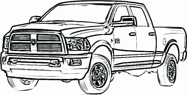 Semi Trucks Coloring Pages Lovely Dodge Ram Coloring Pages Cute