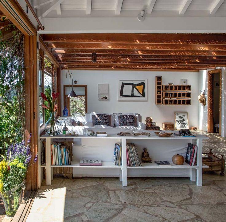 Casa em Búzios: pequena, toda aberta e ventilada - Casa