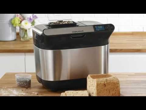 Bake all kinds of specialty breads, homemade jams and doughs with the Bread Maker Premium Plus 48319
