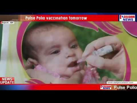 Pulse Polio vaccination tomorrow