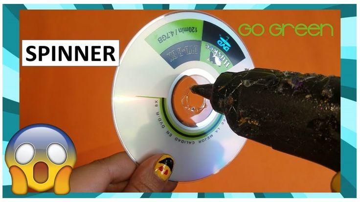 El juguete Spinner más fácil del mundo! ( En 1 minuto)