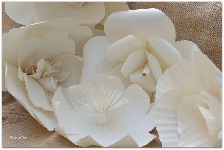 Just love huge Paper Flowers!