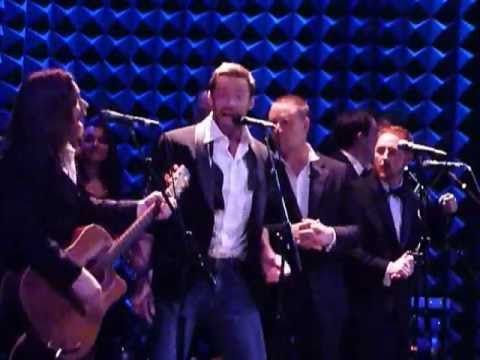▶ The Letter as performed by Hugh Jackman, Russell Crowe, Alan Doyle, et al@Joe's Pub 12/8/12 - YouTube