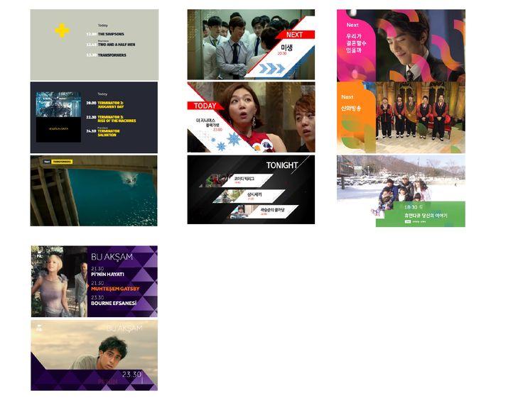 버그 없는 화면 _채널 로고의 색상 및 형태적인 요소로 표현을 해버림