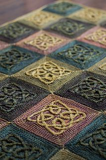 Celtic Knot Knitting Pattern Book : 2130 best images about Knitted/crochet/hooked blankets, afghans, rugs, throws...