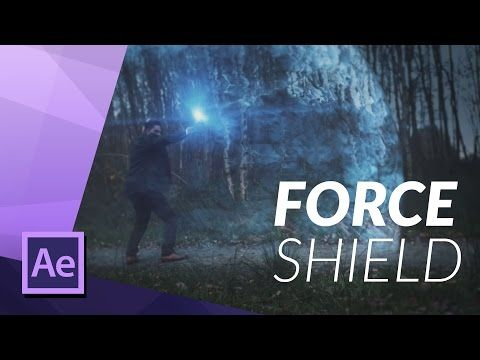 How To Create an EPIC FORCE SHIELD for FILM in ADOBE AFTER EFFECTS VFX TUTORIAL