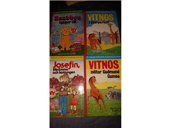 Böcker B. Wahlströms barnböcker  Fyra stycken