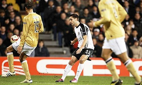 March 18, 2010.  Fulham 4-1 Juventus.   The chip.   We were there.