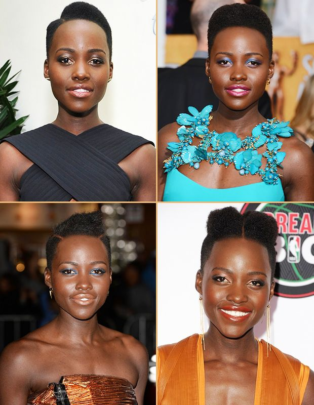 Lupita Nyong'o's Hair. The Teeny Weenie Afro's back! #TWA http://dirtylooks.com/blog/lupita-nyongos-hair
