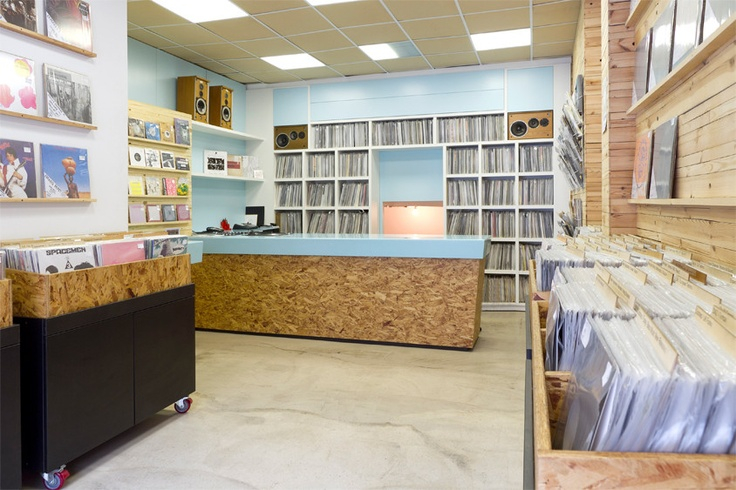 KRISTINA RECORDS, Stoke Newington (got to be done really)...