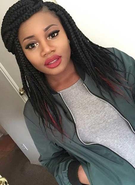 Tremendous 267 Best Images About Braided It On Pinterest Ghana Braids Short Hairstyles Gunalazisus