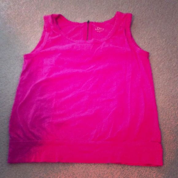 ☀loft by Ann Taylor ☀ Loft by Ann Taylor comfy cute for summer size too small for meh Ann Taylor Tops