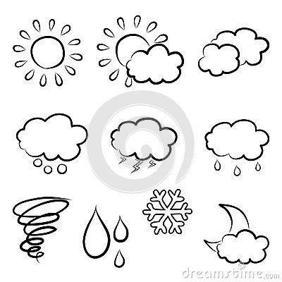 weather doodles - Google Search