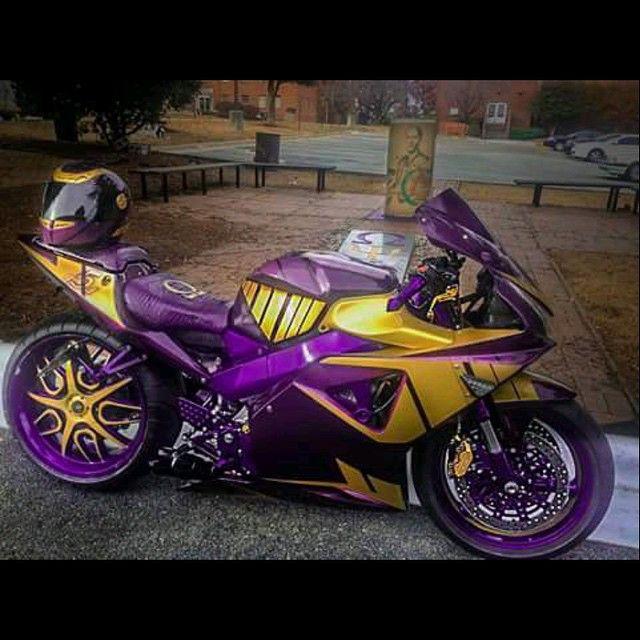 Omega Psi Phi custom motorcycle