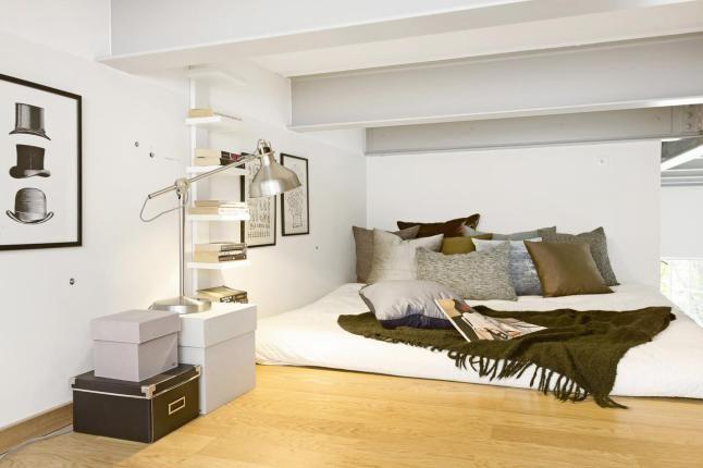 Jurnal de design interior - Amenajări interioare : Accente industriale într-un loft de 75 m²